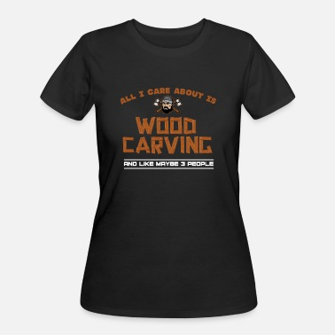 Woodcarver Woodworking Woodcarving - Women's 50/50 T-Shirt
