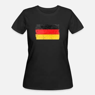 Made In Germany German Flag - Women's 50/50 T-Shirt