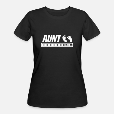 Aunt Baby Sayings Aunt Loading Baby Birth Present & Gift Aunt - Women's 50/50 T-Shirt