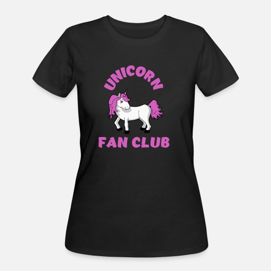 Boy T-Shirts - Unicorn fan club gift for Kids - Women's 50/50 T-Shirt black