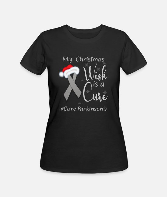 Christmas Carols T-Shirts - Parkinson's Awareness - Women's 50/50 T-Shirt black