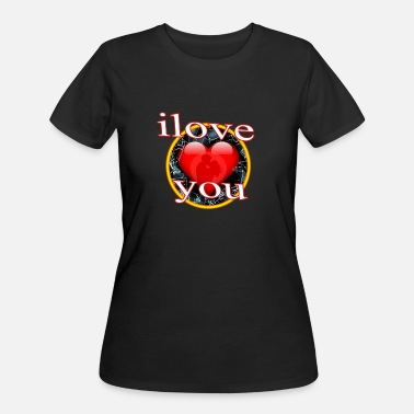 happy Valentine Day t-shirt - Women's 50/50 T-Shirt