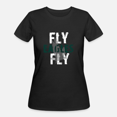 Eagles Fly Eagles - Women's 50/50 T-Shirt