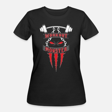 Monsters Motivation Workout Monster - Women's 50/50 T-Shirt