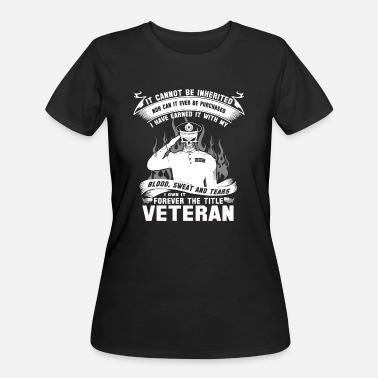 Retired Afghanistan Veteran afghanistan veteran iraq veteran korean - Women's 50/50 T-Shirt