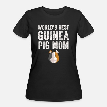 Swine Fever Pig mom - World's best guinea pig mom - Women's 50/50 T-Shirt
