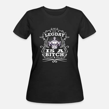 BITCH POWER LADIES T SHIRT WOMENS FUNNY GYM FITNESS WEIGHTLIFTING TRAINING TOP