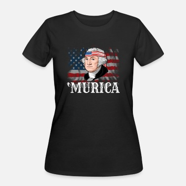George Washington George Washington President Murica - Women's 50/50 T-Shirt