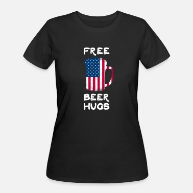 Free Beer Free Beer Hugs Drink Beer Alcohol Drinking - Women's 50/50 T-Shirt