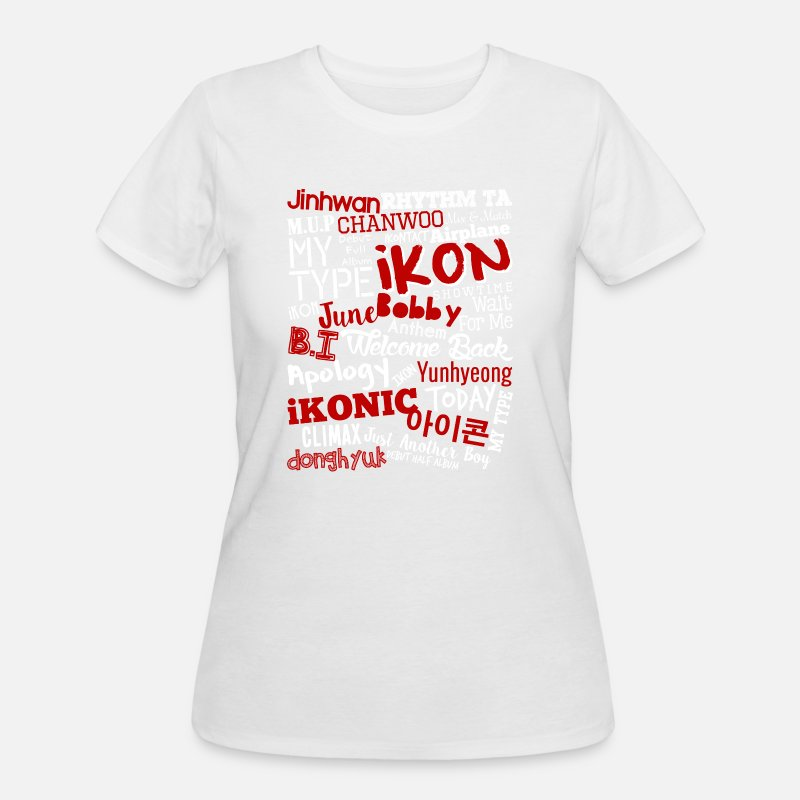 Ikon special fan - Just another boy Women's 50/50 T-Shirt - white