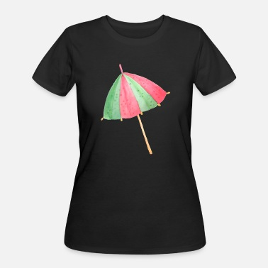 Beach Umbrella Beach Umbrella - Women's 50/50 T-Shirt