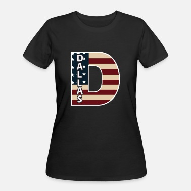 DALLAS TEXAS - Women's 50/50 T-Shirt