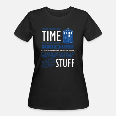 Timelord Tardis - IT GOT AWAY FROM ME - Women's 50/50 T-Shirt