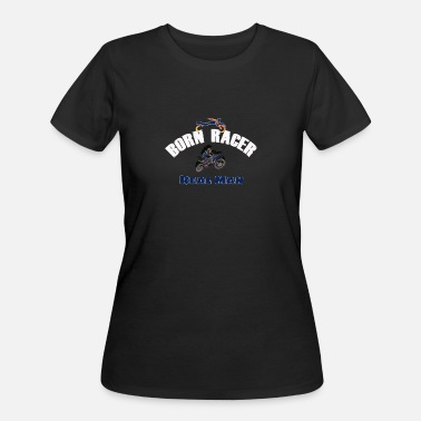 Born Racer Real Man - Women's 50/50 T-Shirt