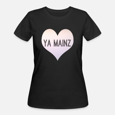 Mainz YA MAINZ - Women's 50/50 T-Shirt