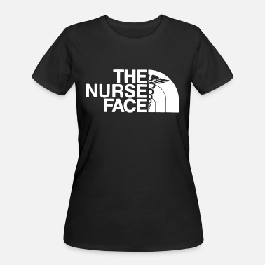Labor And Delivery Nurse THE NURSE FACE - Women's 50/50 T-Shirt