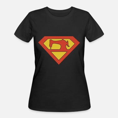 Father And Son Superman QUILTING SUPERMAN son t shirts - Women's 50/50 T-Shirt