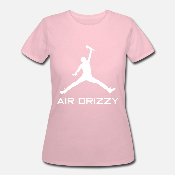 cc19f458a1d6ee Drake Air Drizzy Jordan Jumpman Parody Funny Humor Women s 50 50 T-Shirt