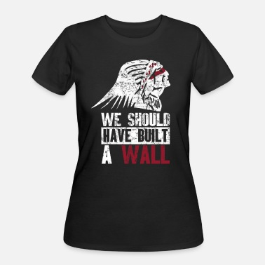 Cherokee Pride Native American Indian Design - Women's 50/50 T-Shirt