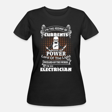 Apprentice Journeyman Keeper of Currents Master Electrician Gift graphic - Women's 50/50 T-Shirt