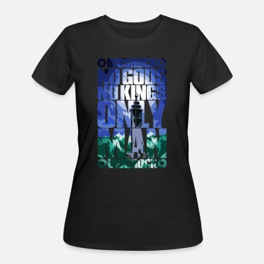 Bioshock No Gods or Kings, Only Man - Women's 50/50 T-Shirt
