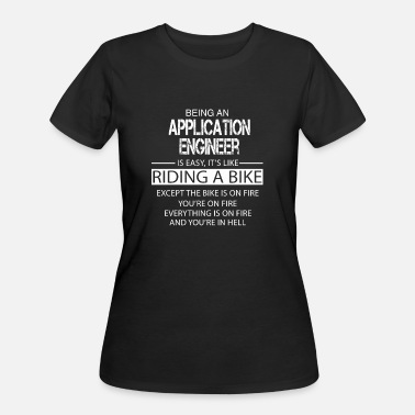 Application Application Engineer - Women's 50/50 T-Shirt