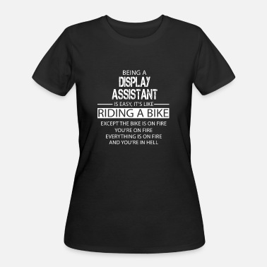 Display Display Assistant - Women's 50/50 T-Shirt