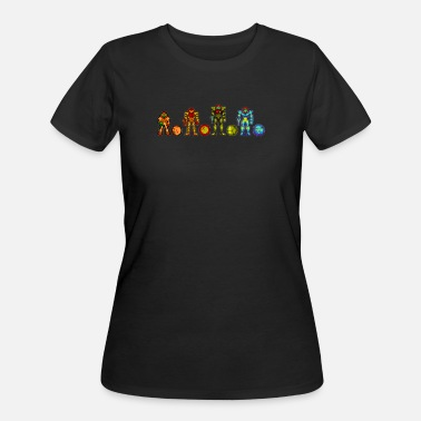 Samus - Women's 50/50 T-Shirt