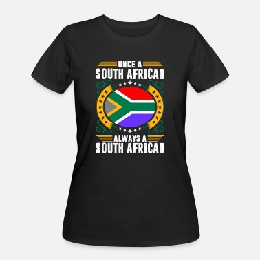 Patriot Always A South African - Women's 50/50 T-Shirt