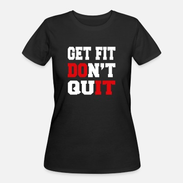 Rehabb Quit - Get Fit Don't Quit - Women's 50/50 T-Shirt