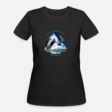 New Zealand Mount Cook New Zealand Wanderlust Gift Idea - Women's 50/50 T-Shirt