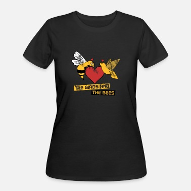 Bees The birds and the bees - Women's 50/50 T-Shirt