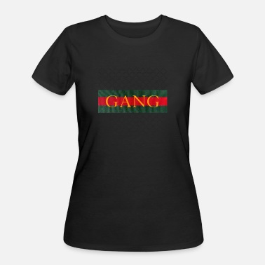 King Red Gold GANG - luxury - red green gold - Women's 50/50 T-Shirt
