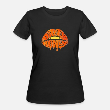 Music Rock Dirty Logo - Women's 50/50 T-Shirt