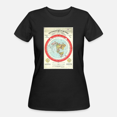 Nwo flat earth - Women's 50/50 T-Shirt