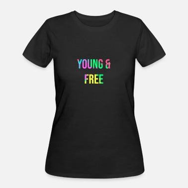 Young And Free YOUNG & FREE - Women's 50/50 T-Shirt