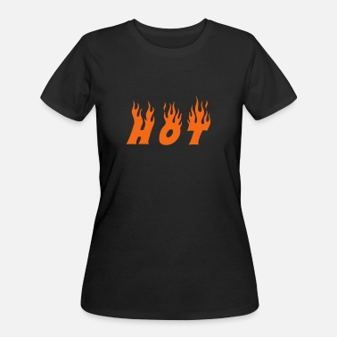 Burning hot - Women's 50/50 T-Shirt