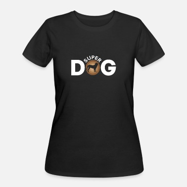 Super Dog Super Dog - Women's 50/50 T-Shirt