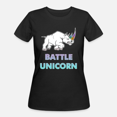 Battle BATTLE UNICORN - Women's 50/50 T-Shirt