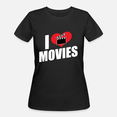 I Love Movies Movies Passion - I love movies - Women's 50/50 T-Shirt