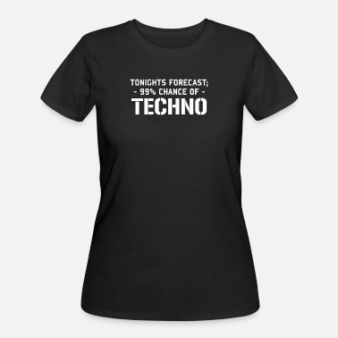 Techno TECHNO - Women's 50/50 T-Shirt