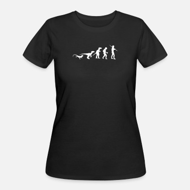 Ick Icke Evolution - Women's 50/50 T-Shirt