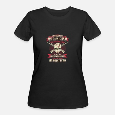 Patriotic Veteran - My craft is one of pride and respect - Women's 50/50 T-Shirt