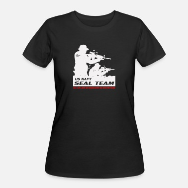 Us Seal Seal Team US Navy - Women's 50/50 T-Shirt