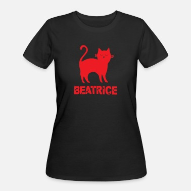 Beatrice Beatrice Cat - Women's 50/50 T-Shirt
