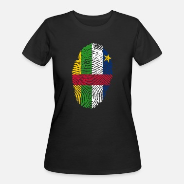 Central Europe central african republic - Women's 50/50 T-Shirt