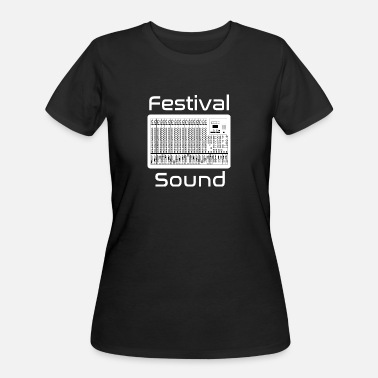 Live Sound festival sound mixing desk - Women's 50/50 T-Shirt