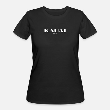 Hawaii Pride HAWAII KAUAI US DESIGNER EDITION - Women's 50/50 T-Shirt