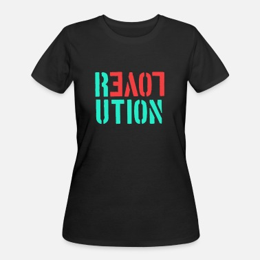 Homosexual Love Gay Homosexuality Lesbian - Love Revolution - Women's 50/50 T-Shirt
