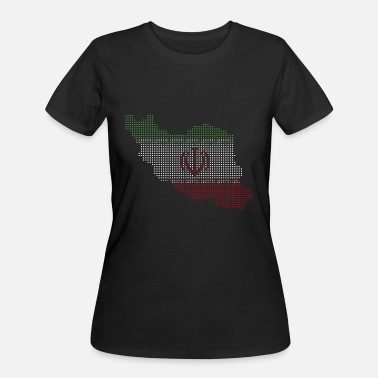 Persia Iran Flag Motif Gift Idea - Women's 50/50 T-Shirt